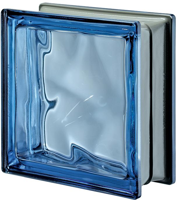 PEGASUS METALLIZZATO Blue Q19 Wavy Metallised