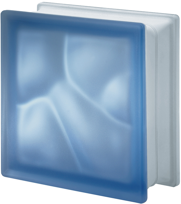 PEGASUS Blue Q19 Wavy two sides Satin finished