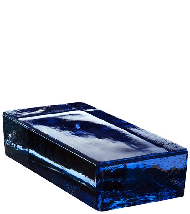 VETROPIENO Blau Rettangolare