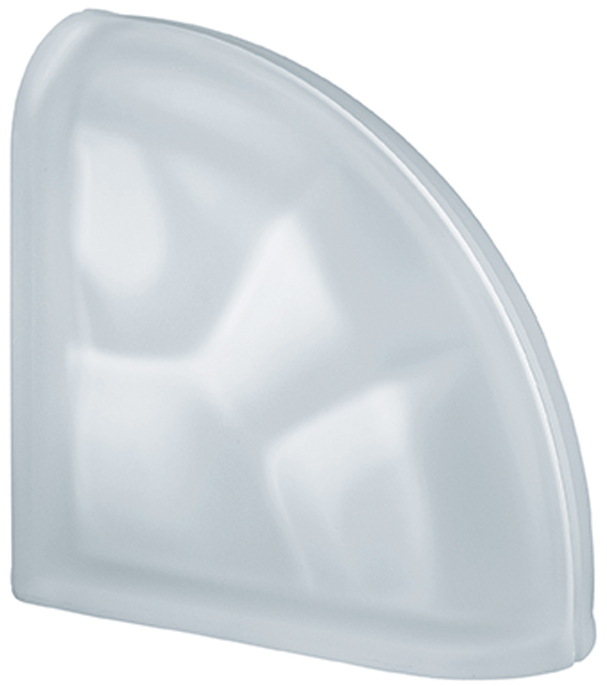 PEGASUS Clear Curved Terminal Wavy Satin finished