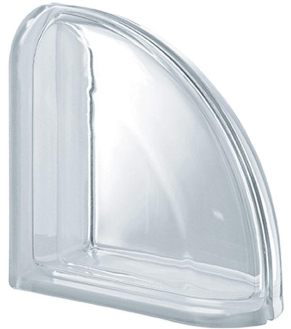 PEGASUS Neutro Terminal Curvo Liso Transparente