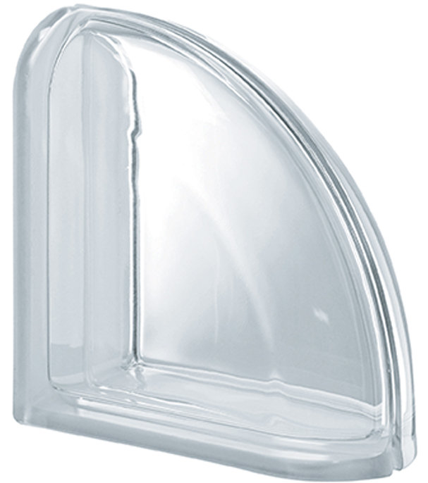 PEGASUS Clear Curved Terminal Smooth Transparent