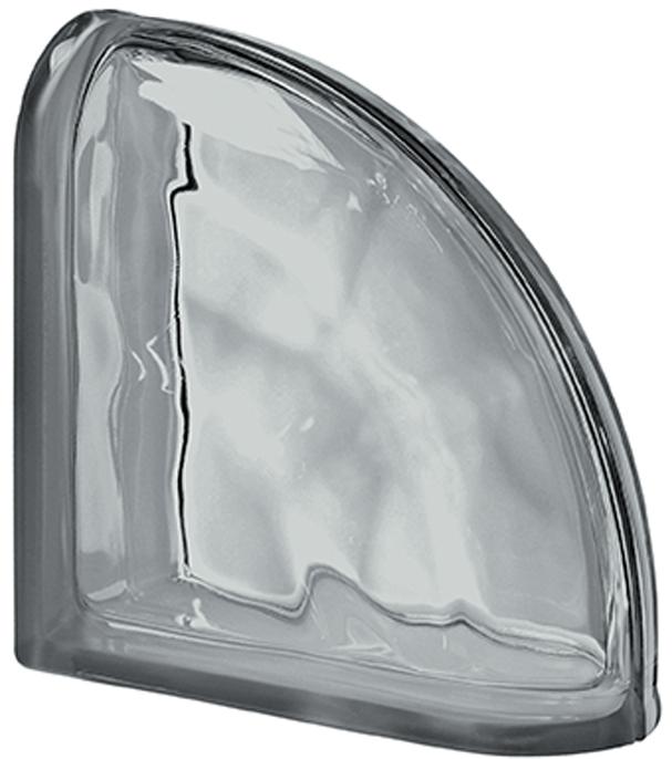 PEGASUS Nórdica Terminal Curvo Ondulado Transparente