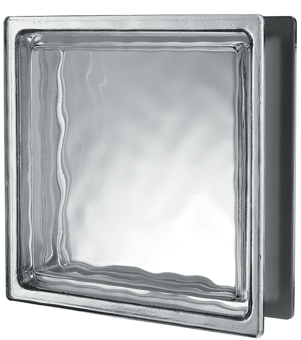 GINZA COLLECTION Clear Q42 Smooth+Wavy Metallised