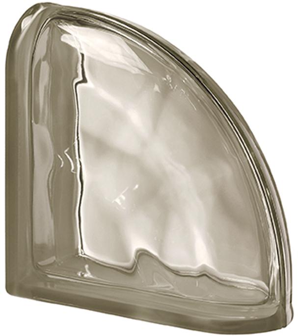 PEGASUS Siena Curved Terminal Wavy Transparent