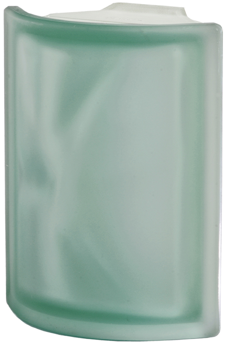 PEGASUS Green Angular Wavy two sides Satin finished